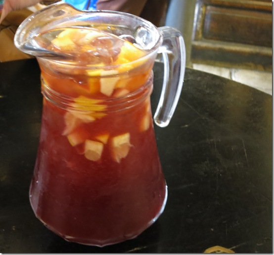 Best of Spain- food and drink Sangria Seville
