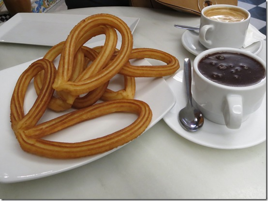 Best of Spain- food and drink churros and chocolate Valencia