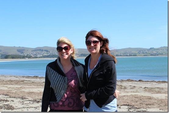 Driving the California Coast Bodega Bay with Rebekah