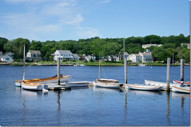 Mystic Connecticut harbor