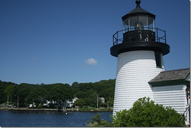 Mystic Connecticut lighthouse