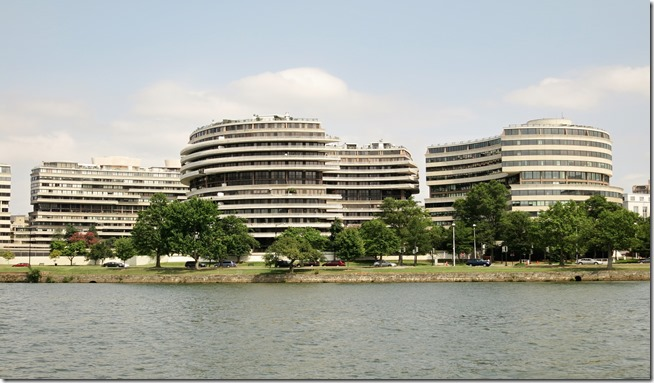 Watergate Buildings Washington DC