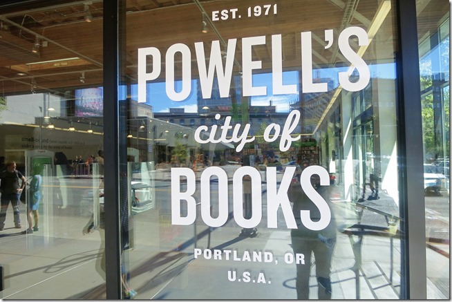 Portland Powells Books Sign