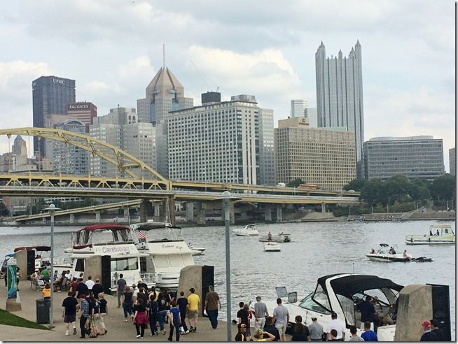 Pittsburgh River walk