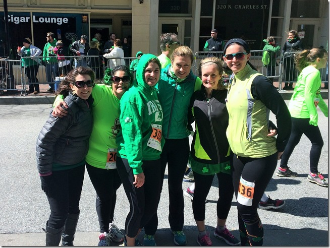 Baltimore St Patrick's Day 5K girls