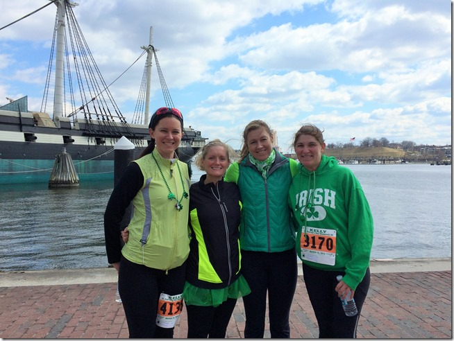 Baltimore St Patrick's Day 5K Inner Harbor