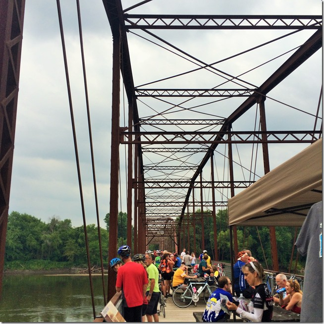 Day on RAGBRAI- Sutliff, Iowa