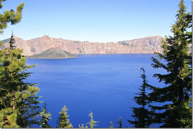 Crater Lake south side