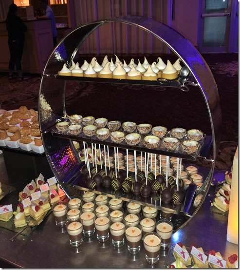 Diplomat hotel party dessert buffet