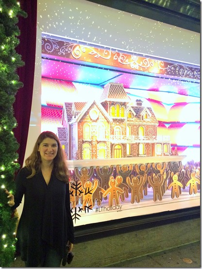 NYC holiday tour Lord and Taylor