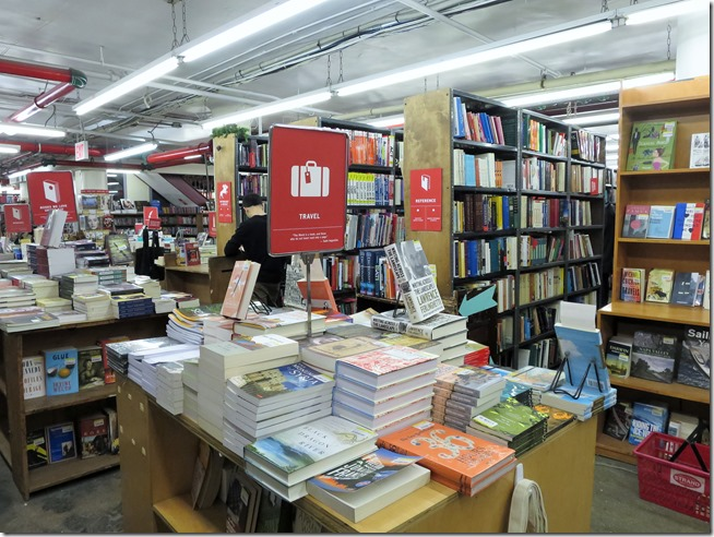 Strand bookstore basement