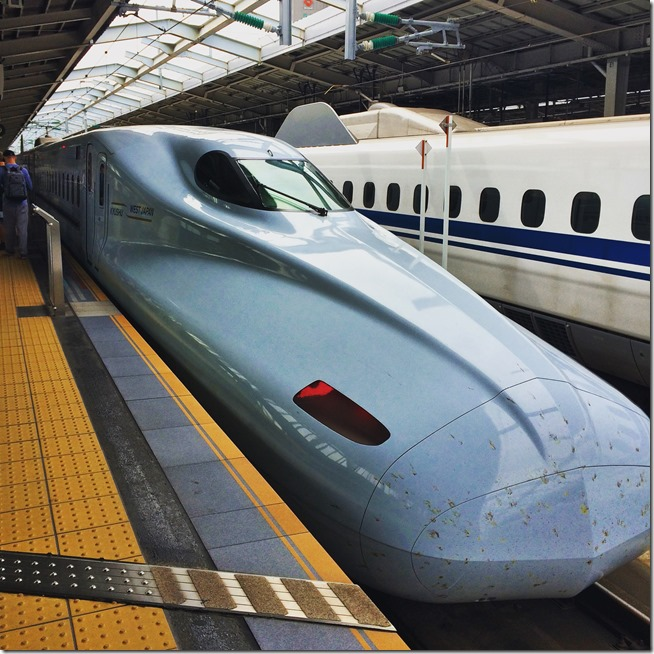 Don't Miss places in Japan- Bullet Train