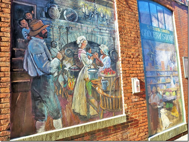 Chestertown Maryland mural