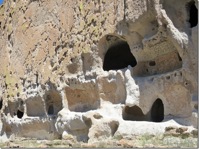 Bandelier National Monument prehistoric cliff houses