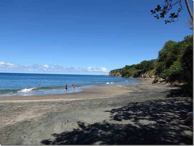Montserrat activities- black sand beach