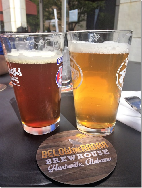 Things to do in Huntsville- beer at Below the Radar Brewhouse