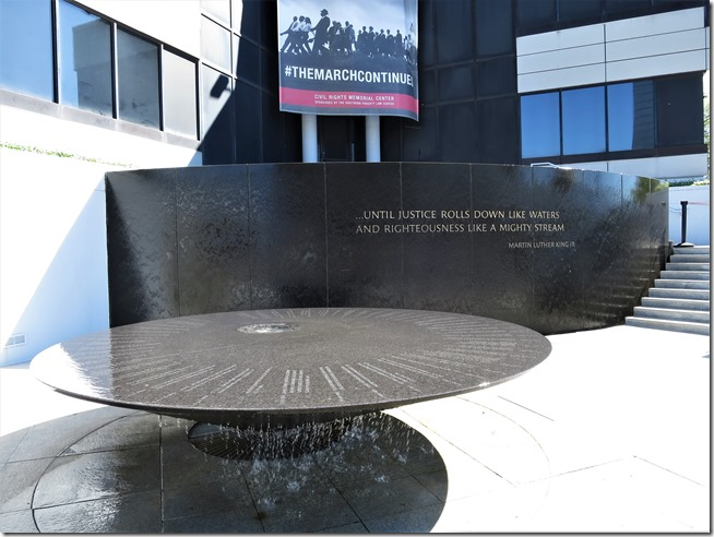 Daytrip to Montgomery Alabama- Civil Rights Movement Memorial